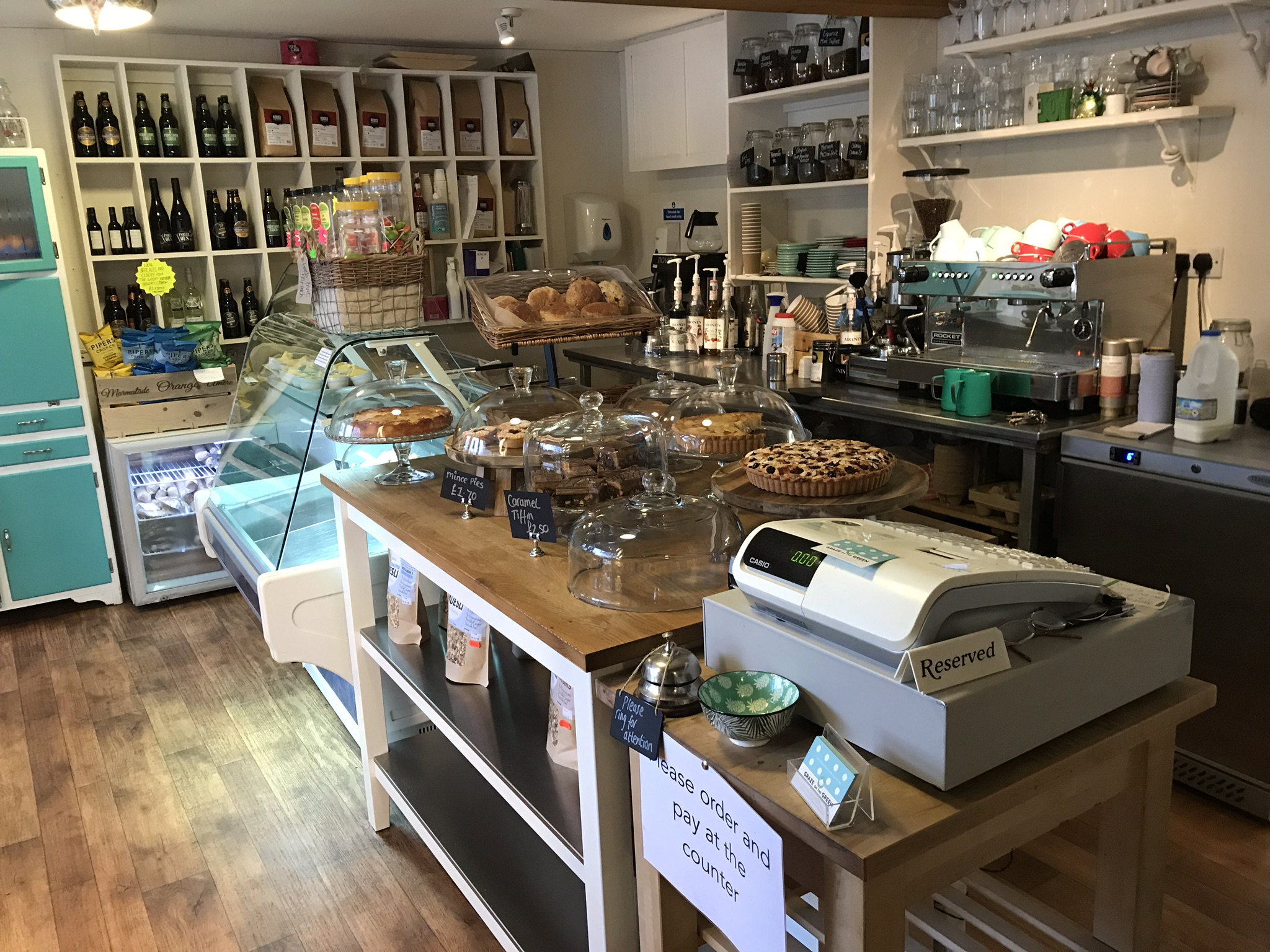 Our cake counter
