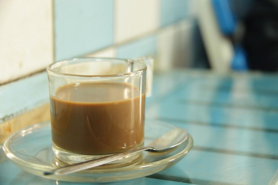 Vietnamese coffee in Cheo Leo