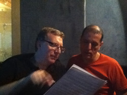 Pichu Borrelli e Jorge Saavedra