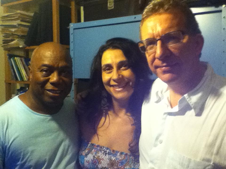 Com Filó Machado e Pichu Borrelli