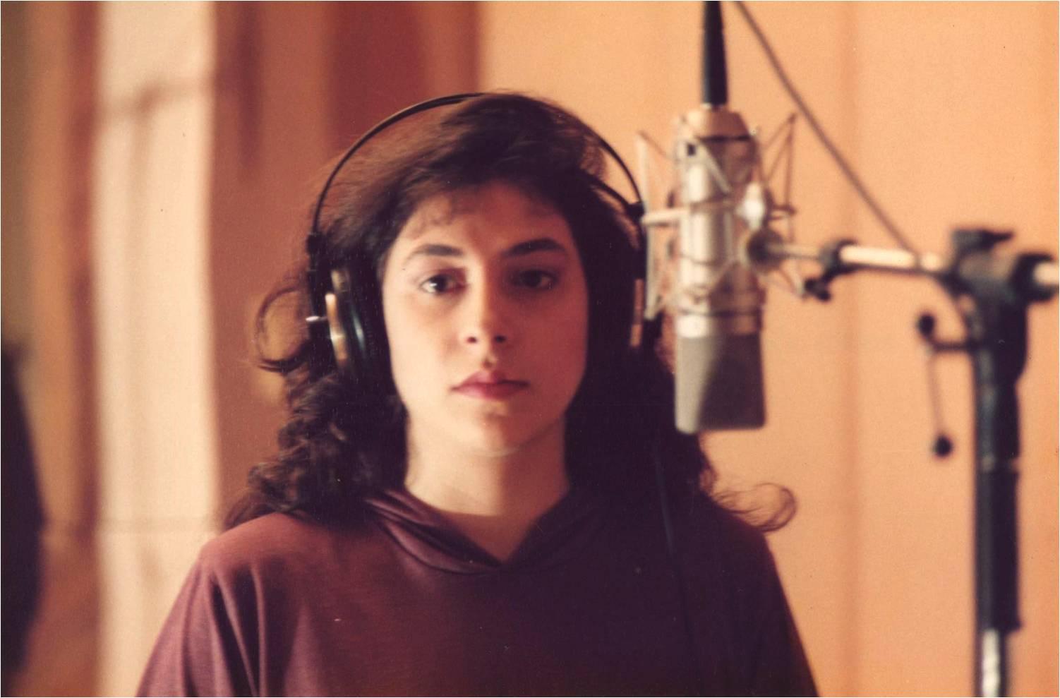 Primeira gravação em estúdio