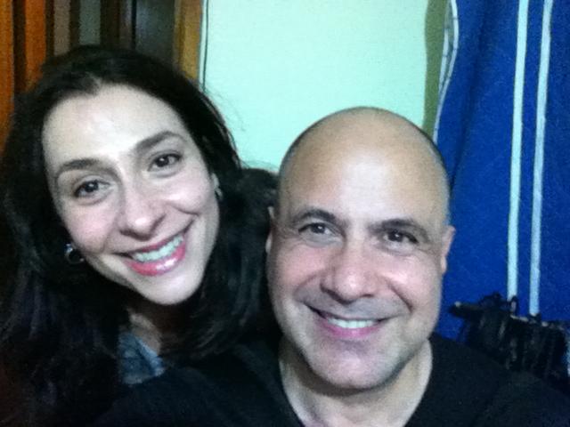 Com Toninho Ferragutti