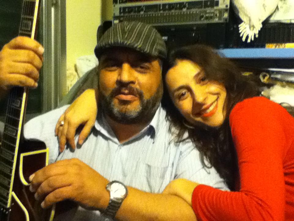 Com Luizão Cavalcante