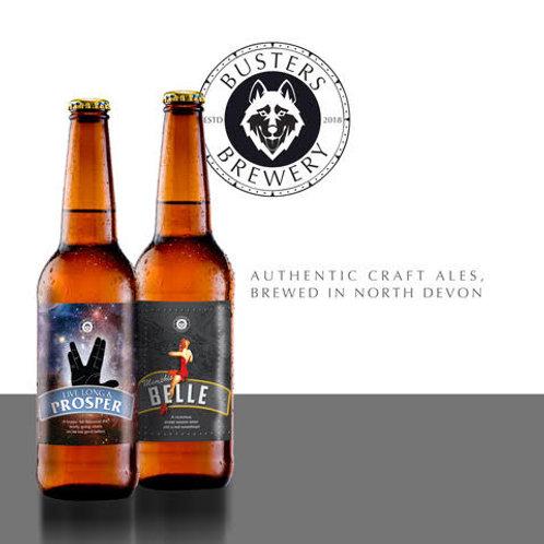 Busters Brewery 3 beer gift pack