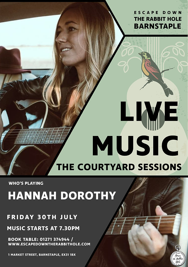 Courtyard Sessions Hannah Dorothy 300721