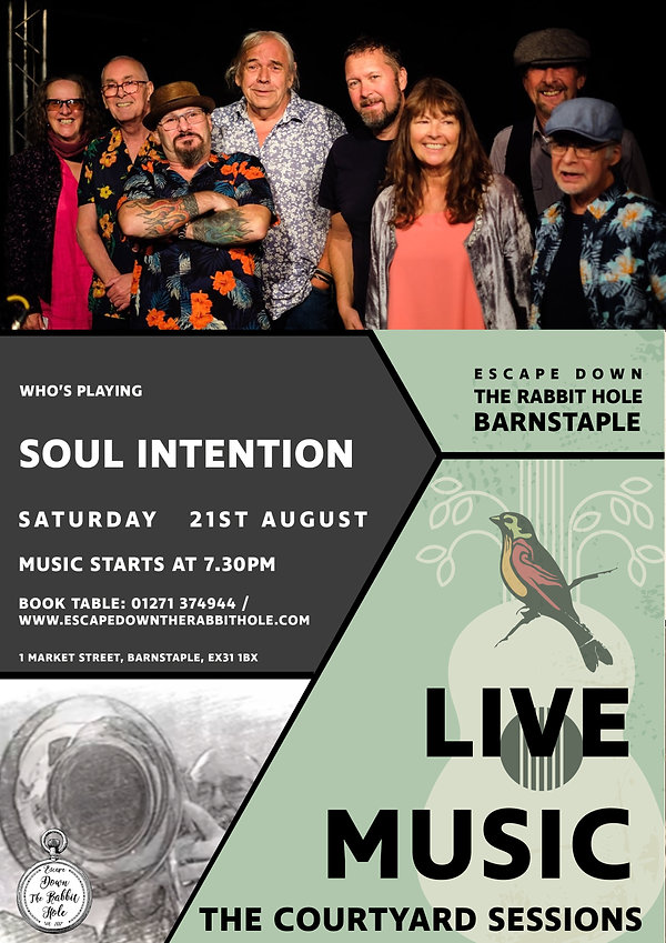 Courtyard Sessions Soul Intention 210821