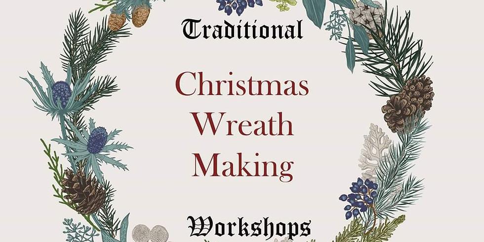 Traditional Christmas wreath workshop 3rd Dec 7pm