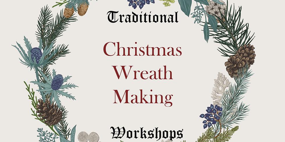Wreath Making Workshop December 9th