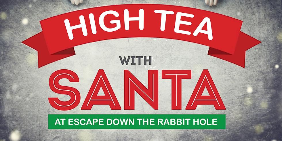 High Tea With Santa 9th December