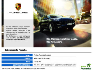 THE NEW PORSCHE MACAN, LIFE, INTENSIFIED