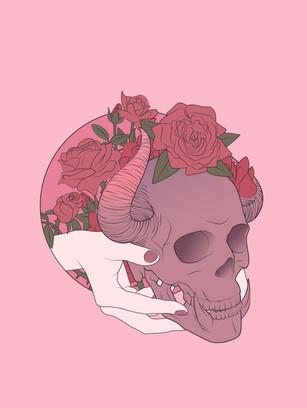 Crafty Witch: Gargoyle Skull