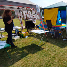 Our Info Tent & Cone-Shy