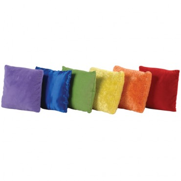 Rainbow sensorial experience pillows