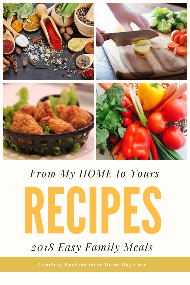 2018 Recipe Book Cover