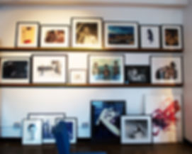 Photographs displaying the work of Chris Boals Artists, a boutique agency located in midtown New York.