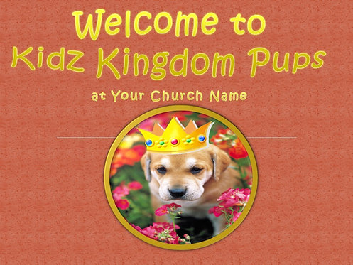 Kingdom Pups Ages 3 - 5