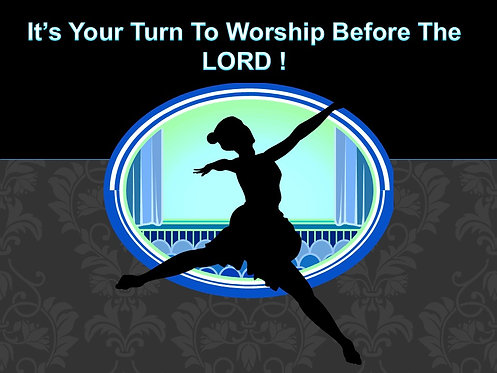 It's Your Turn To Worship