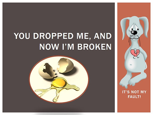 You Dropped Me, and Now I Am Broken
