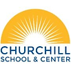 Logo of the Churchill School and Center.
