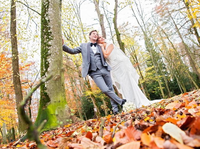 Zauberhaftes Hochzeits-Shooting von Maria & Max im Schloss Lamberg