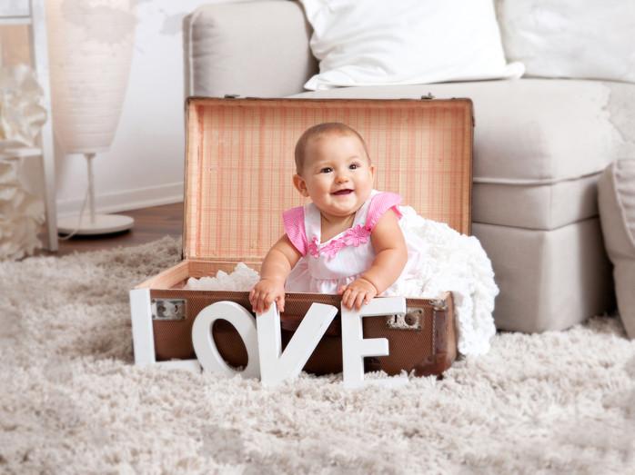 Glücklich machen kleine Sachen - oft auch nur ein Kinderlachen ♥