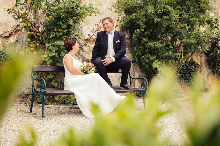 Ein Hoch auf das Brautpaar Claudia & Mario