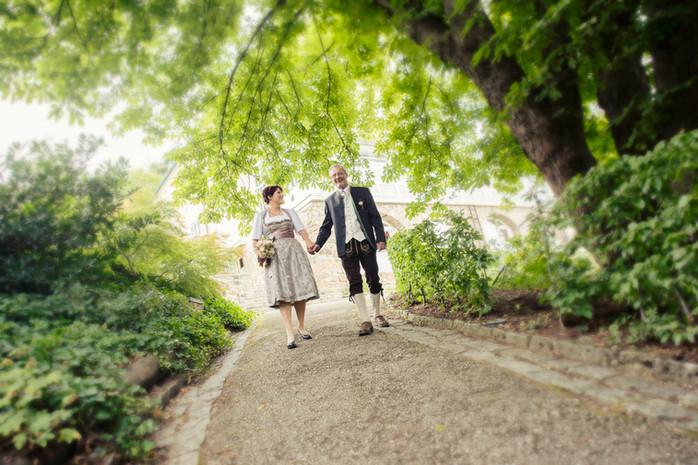 Wir gratulieren Daniela & Erwin zur Traumhochzeit am Pöstlingberg