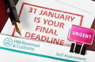 Self Assessment Deadline Looming