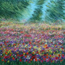 Rif. 6050 - Sottobosco in fiore