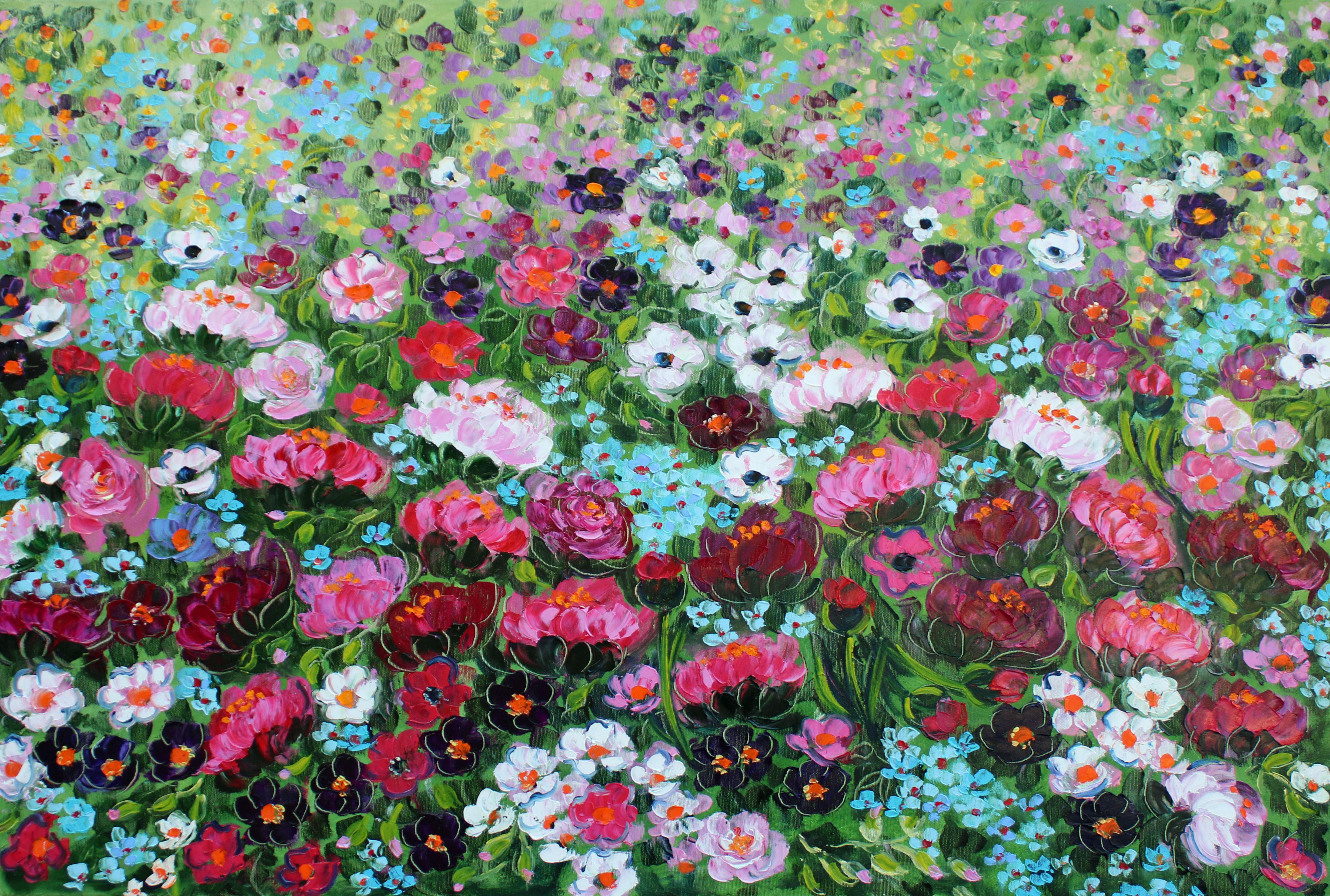 Rif. 1384 - Peonie in fiore