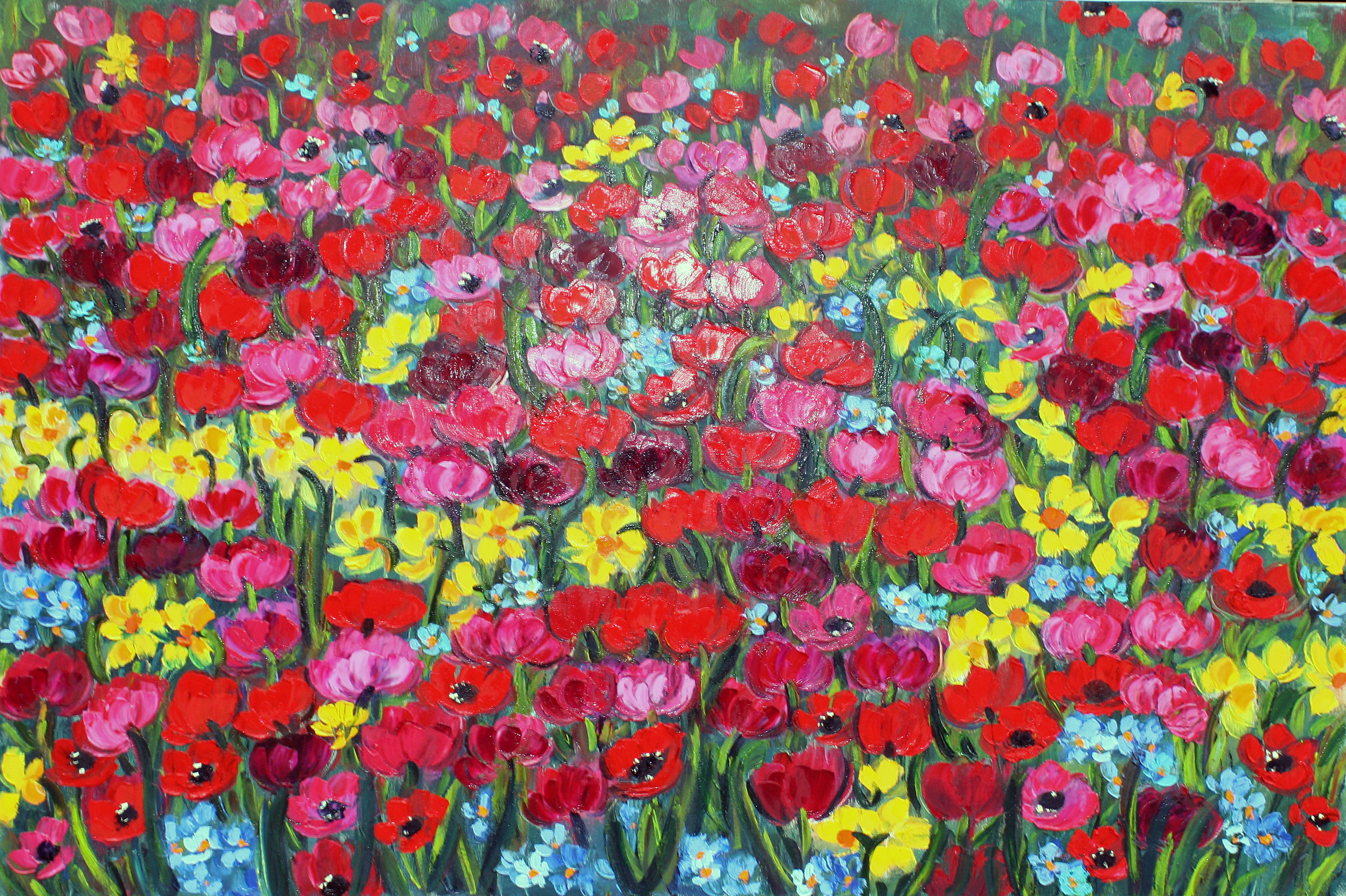 Rif. 4594 - Tulipani e giacinti