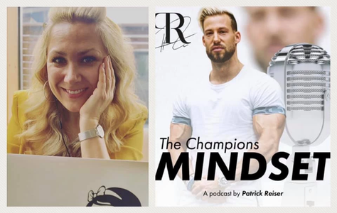 Patrick Reisers Podcast »The Campions Mindset« ist mit Folge 62 online, in der er sich mit Pamela Obermaier über die Kraft der Sprache, Erfolgsstrategien und die Macht der Stimme unterhalten hat.