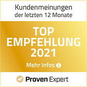 Proven Expert Top Empfehlung Pamela Obermaier