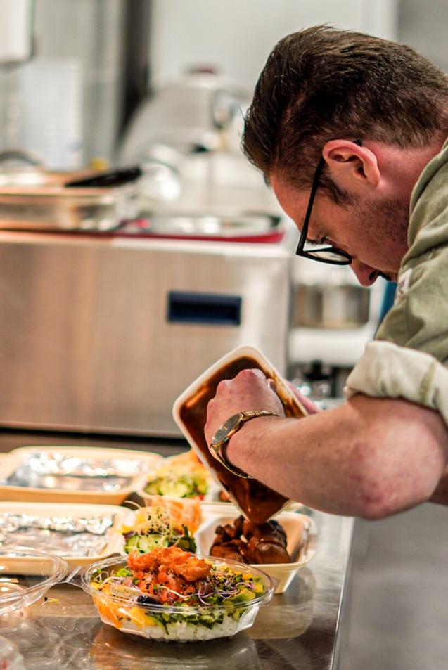 Food fotografie - keuken B&B Brasserie Villare