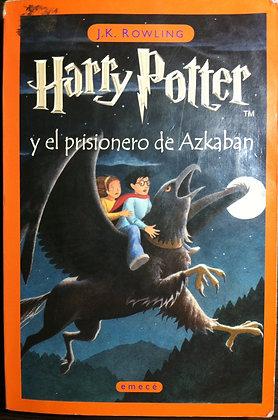 Harry Potter y el prisionero de Azkaban, de J K Rowling