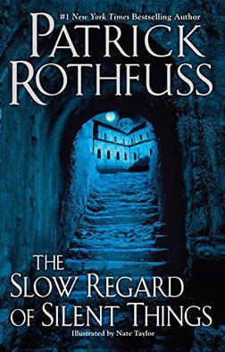 The slow regard of silent things, de Patrick Rothfuss