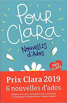 Pour Clara. Nouvelles d'ados, de Varios Autores