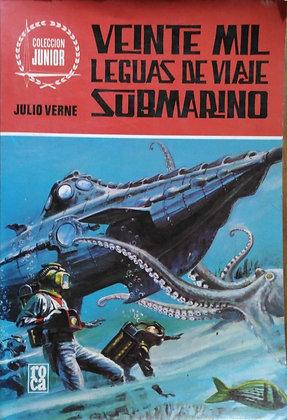 Veinte mil leguas de viaje submarino, de Jules Verne