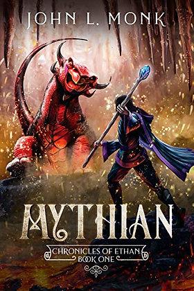 Mythian : a litrpg and gamelit fantasy series, de John L  Monk