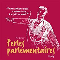 Perles parlementaires, de Paul Quimper