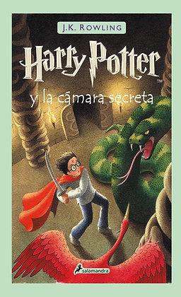 Harry Potter y la cámara secreta, de J K Rowling