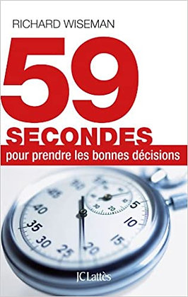 59 secondes, de Richard Wiseman