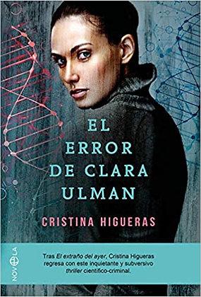 El error de Clara Ulman, de Cristina Higueras