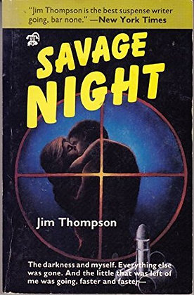 Savage night, de Jim Thompson