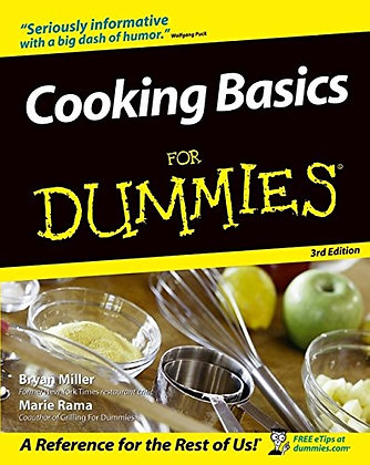 Cooking for dummies : a reference for the rest of us, de Bryan Miller