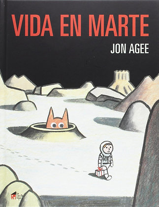 Vida en marte, de Jon Agee
