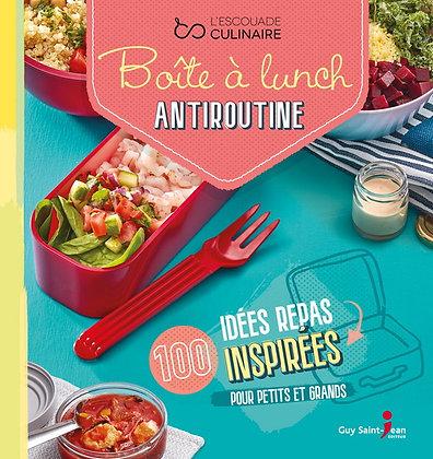 Boîte à lunch antiroutine, de L escouade Culinaire