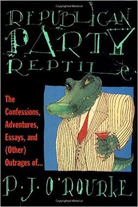 Republican party reptile, de P J O Rouke