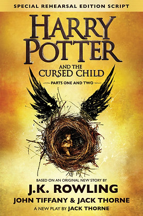 Harry Potter and the cursed child, de J K  Rowling