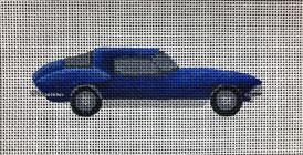 ME21 - Blue Corvette